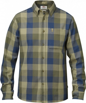 OVIK BIG CHECK SHIRT LS