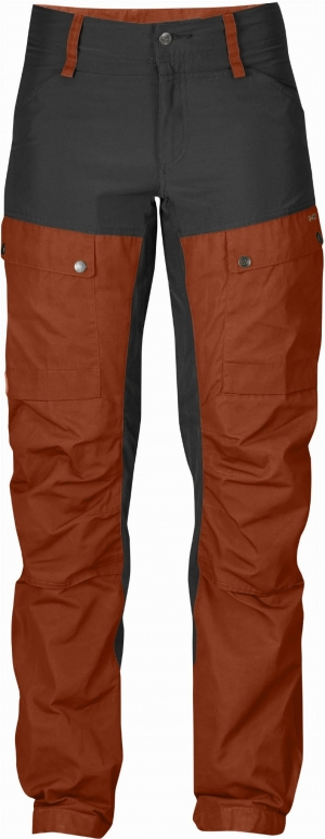 KEB TROUSERS W CURVED