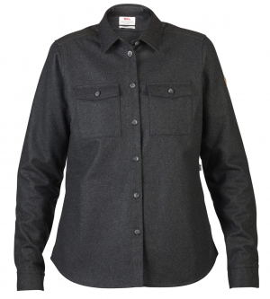 OVIK RE-WOOL SHIRT LS W