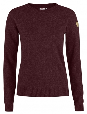 OVIK RE-WOOL SWEATER W