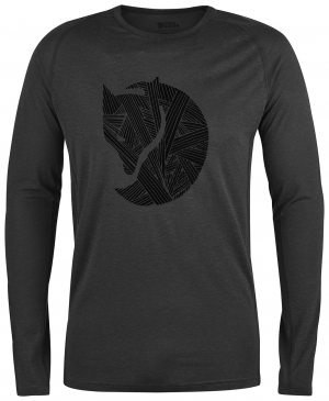 ABISKO TRAIL T-SHIRT PRINTED LS