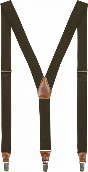 LEATHER CLIP SUSPENDERS
