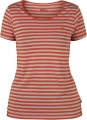 High Coast Stripe T-Shirt W, kolor: 214 - Flame Orange.