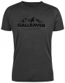 Abisko Trail T-Shirt Print, kolor: 030 - Dark Grey