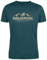 Abisko Trail T-Shirt Print, kolor: 646 - Glacier Green