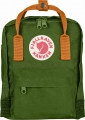 Fjallraven Kanken Mini, kolor: 615-212 - Leaf Green/Burnt Orange.