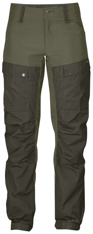 KEB TROUSERS W CURVED REGULAR