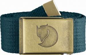 CANVAS BRASS BELT 4 CM