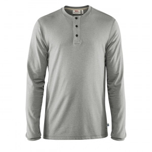 GREENLAND RE-COTTON BUTTONED LS