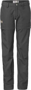 ABISKO SHADE ZIP-OFF TROUSERS W SHORT