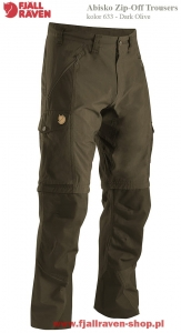 ABISKO ZIP OFF TROUSERS