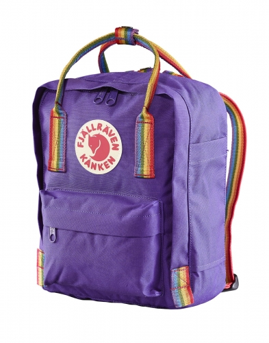 Kanken Rainbow, kolor: 580-907 - Purple/Rainbow Pattern