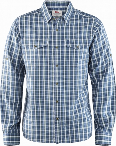 Abisko Cool Shirt LS, kolor: 520 - Uncle Blue