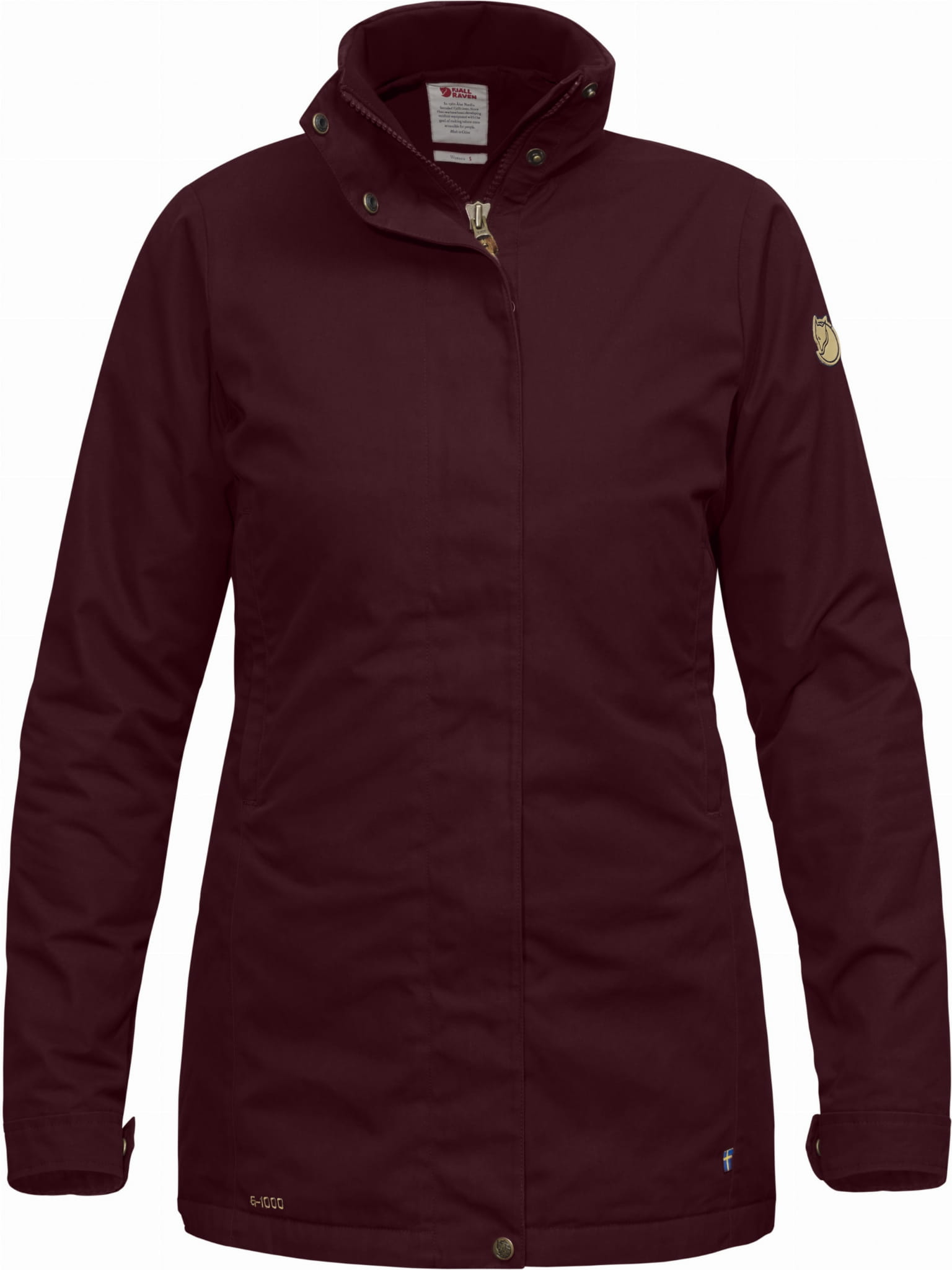 a846494e56c88 ... Sormland Padded Jacket W Fjallraven, kolor: 356- Dark Garnet ...